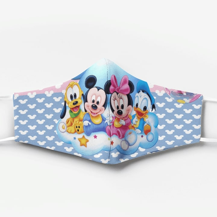 Mickey mouse babies full printing face mask 3