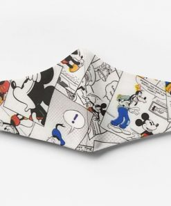 Mickey mouse comic book full printing face mask 1