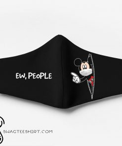 Mickey mouse ew people full printing face mask