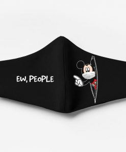 Mickey mouse ew people full printing face mask 3