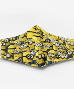 Minions full printing face mask 1