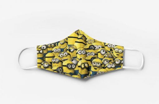 Minions full printing face mask 3