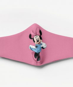 Minnie mouse full printing face mask 1