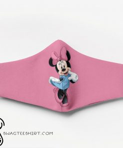 Minnie mouse full printing face mask