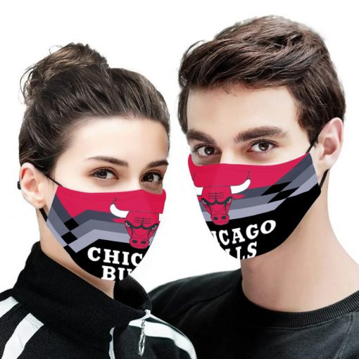 NBA chicago bulls anti pollution face mask 2