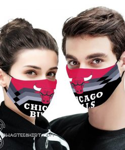 NBA chicago bulls anti pollution face mask