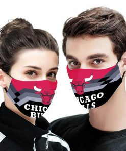NBA chicago bulls anti pollution face mask 4