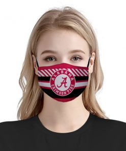 NFL alabama crimson tide football anti pollution face mask 1