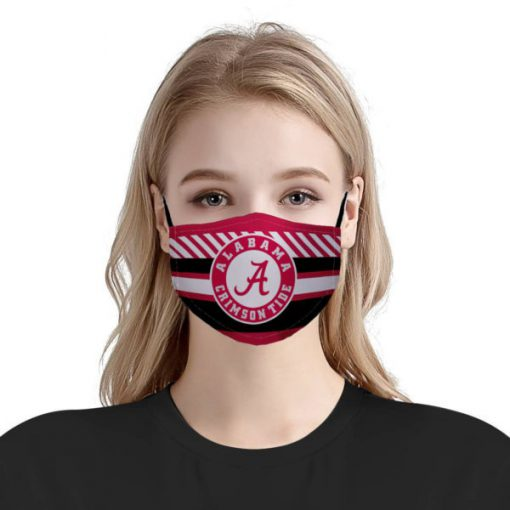 NFL alabama crimson tide football anti pollution face mask 3