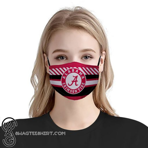 NFL alabama crimson tide football anti pollution face mask