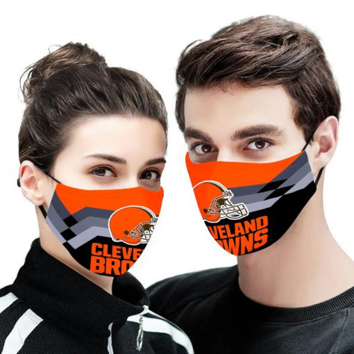 NFL cleveland browns anti pollution face mask 1