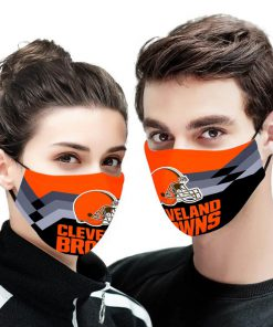 NFL cleveland browns anti pollution face mask 4
