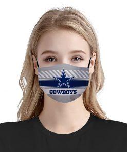 NFL dallas cowboys anti pollution face mask 1