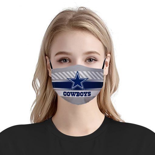 NFL dallas cowboys anti pollution face mask 2