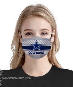 NFL dallas cowboys anti pollution face mask