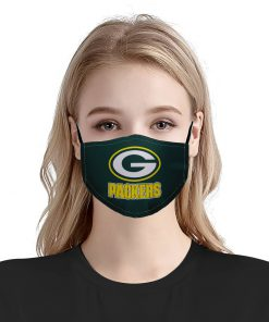 NFL green bay packers anti pollution face mask 1