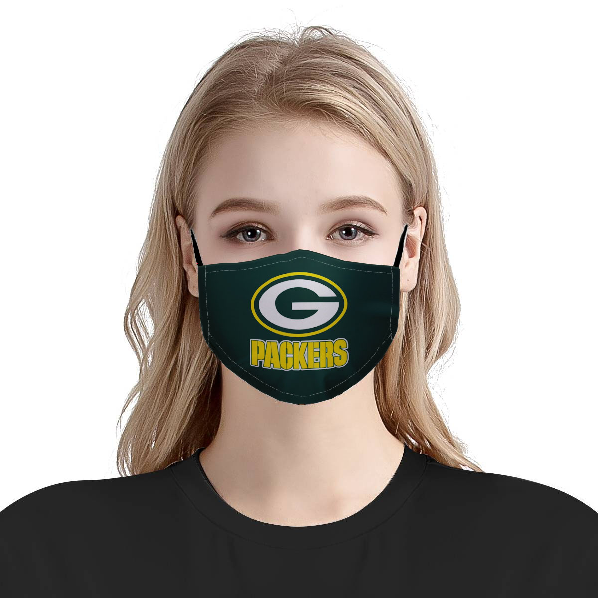 NFL green bay packers anti pollution face mask 4