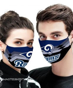 NFL los angeles rams anti pollution face mask