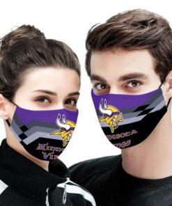 NFL minnesota vikings anti pollution face mask 4