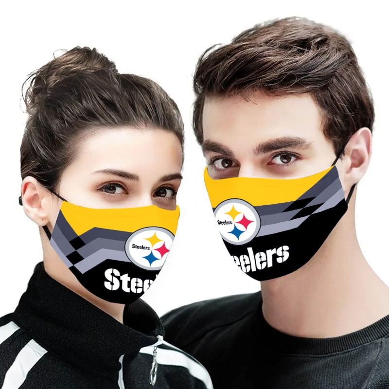 NFL pittsburgh steelers anti pollution face mask 3