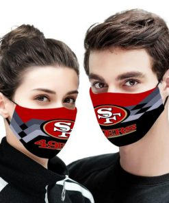 NFL san francisco 49ers anti pollution face mask 2