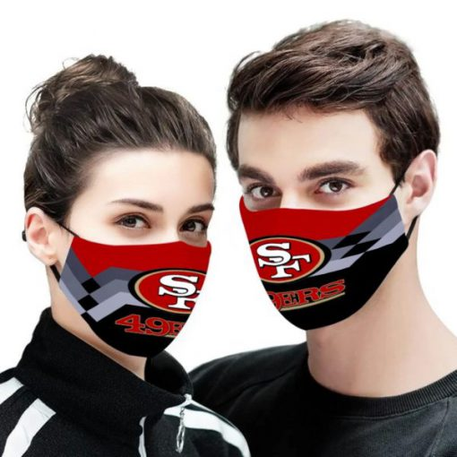 NFL san francisco 49ers anti pollution face mask 3