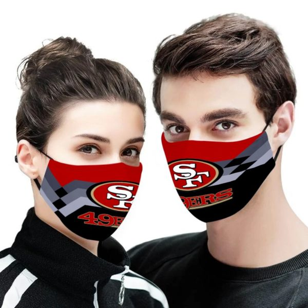 NFL san francisco 49ers anti pollution face mask 4