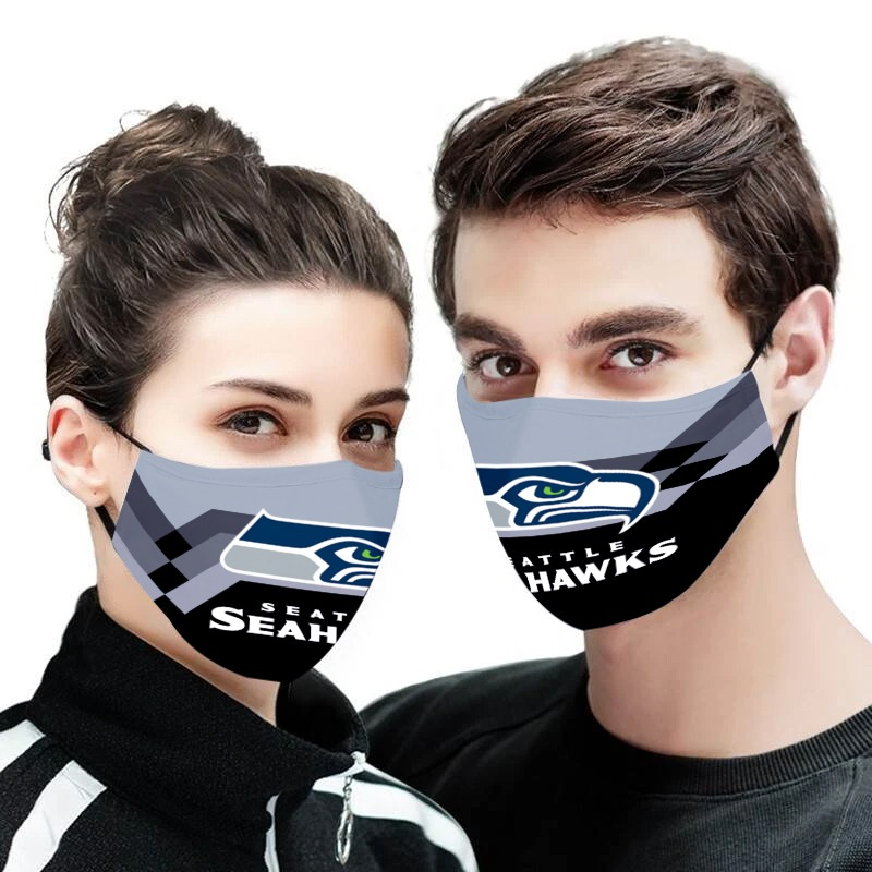NFL seattle seahawks anti pollution face mask 3