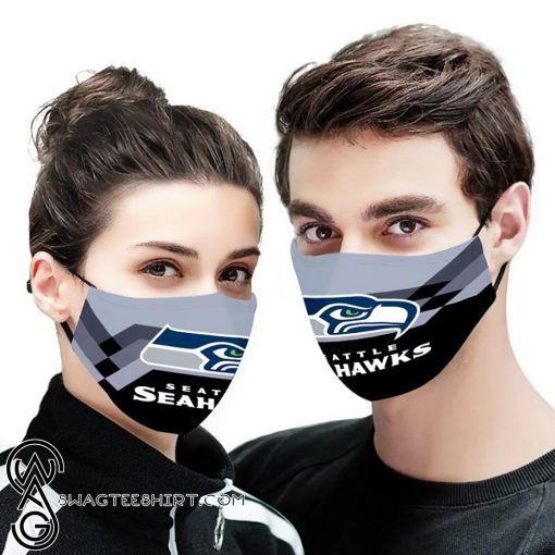 NFL seattle seahawks anti pollution face mask