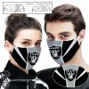 National football league oakland raiders full printing face mask