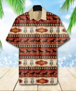 Native american symbols hawaiian shirt 1