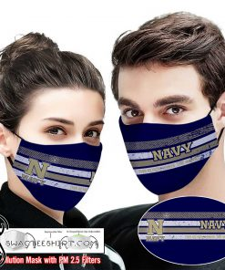 Navy midshipmen this is how i save the world full printing face mask