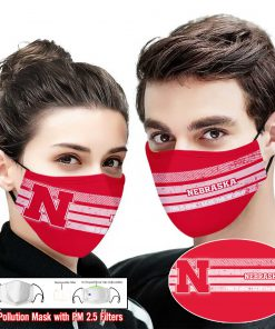 Nebraska cornhuskers this is how i save the world full printing face mask 2