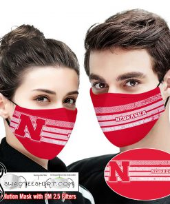 Nebraska cornhuskers this is how i save the world full printing face mask