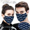Nevada wolf pack football full printing face mask