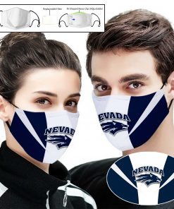 Nevada wolf pack full printing face mask 1