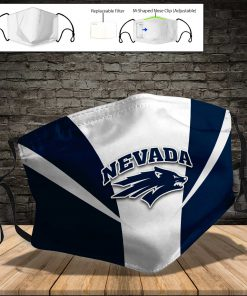 Nevada wolf pack full printing face mask 3