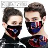 New england patriots american warrior full printing face mask