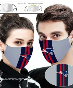 New england patriots team full printing face mask