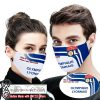 Olympique lyonnais this is how i save the world full printing face mask