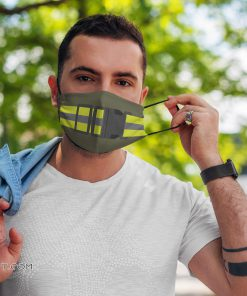 PT belt army anti pollution face mask