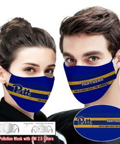 Pitt panthers this is how i save the world face mask 2