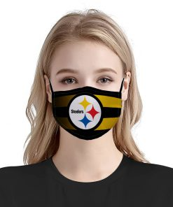Pittsburgh steelers team anti pollution face mask 1