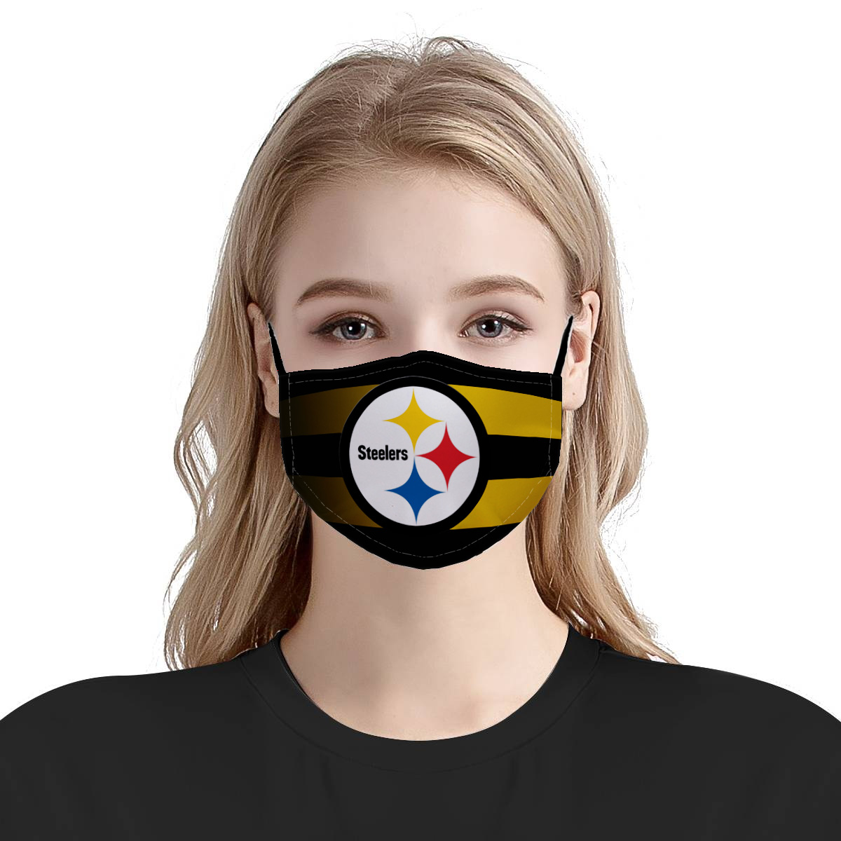 Pittsburgh steelers team anti pollution face mask 2