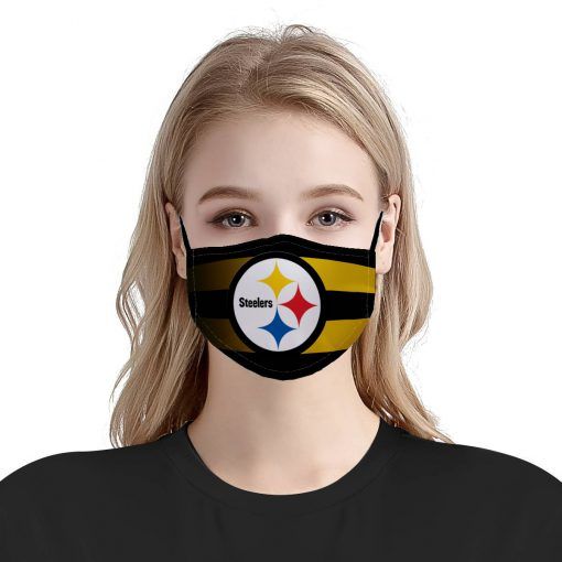 Pittsburgh steelers team anti pollution face mask 3
