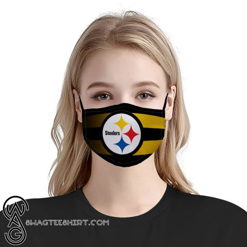 Pittsburgh steelers team anti pollution face mask