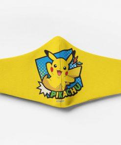 Pokemon pikachu full printing face mask 1