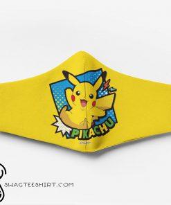 Pokemon pikachu full printing face mask