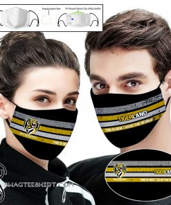 Richmond football club tigers this is how i save the world face mask