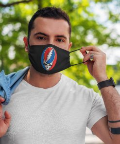 Rock band grateful dead anti pollution face mask 1
